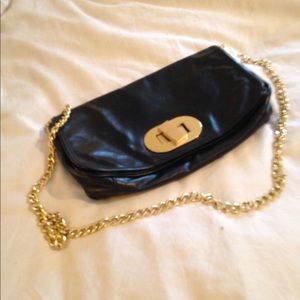 Badgley Mischka black cross body bag
